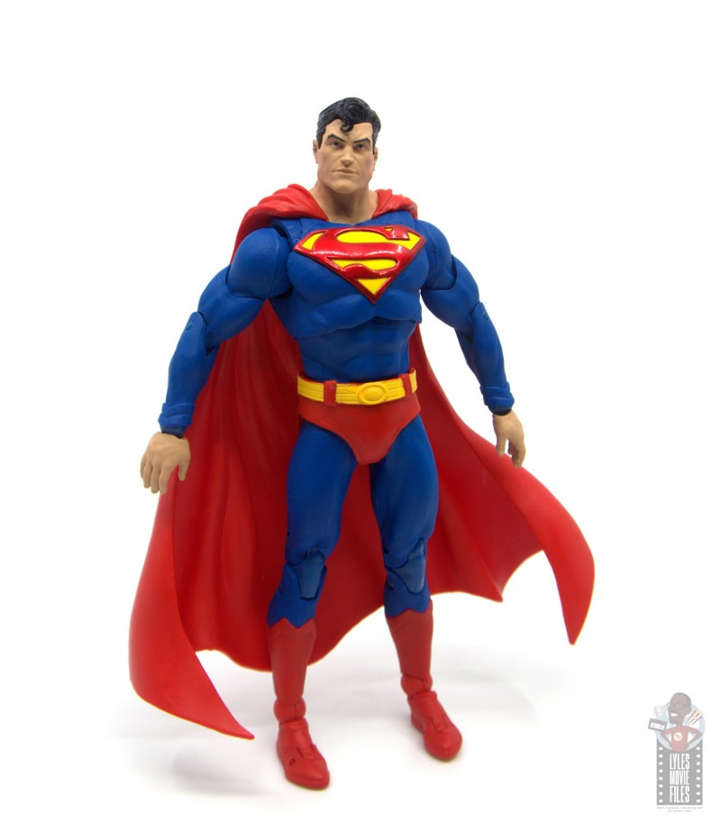mcfarlane toys dc multiverse superman figure review - wide stance