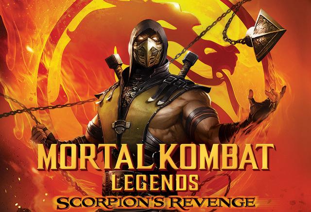 mortal kombat scorpion's revenge main