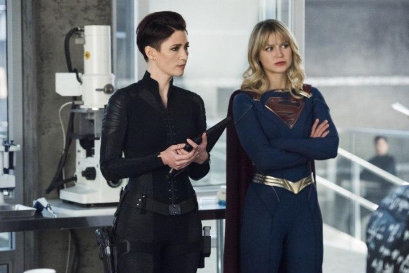 supergirl the bottle episode - alex and supergirl