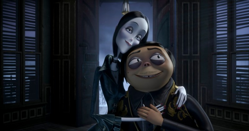 the addams family review - morticia and gomez