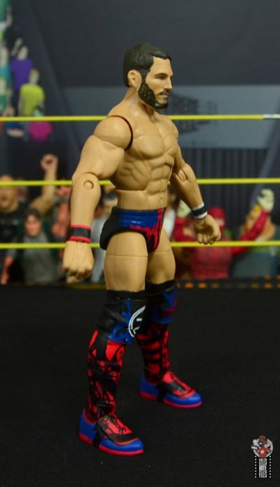wwe elite 70 johnny gargano figure review - right side