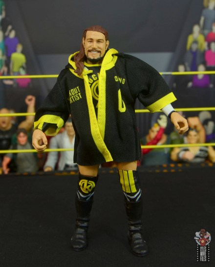 wwe elite 70 kassius ohno figure review -robe front