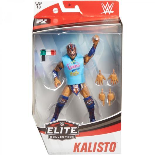 wwe elite 75 - kalisto figure -package front
