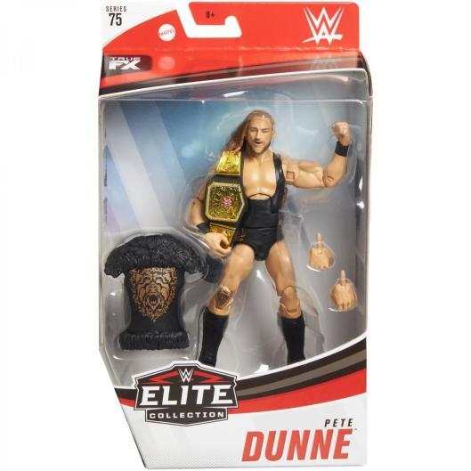 wwe elite 75 - pete dunne figure -package front