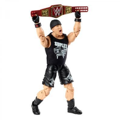 wwe ultimate edition brock lesnar - holding up title belt