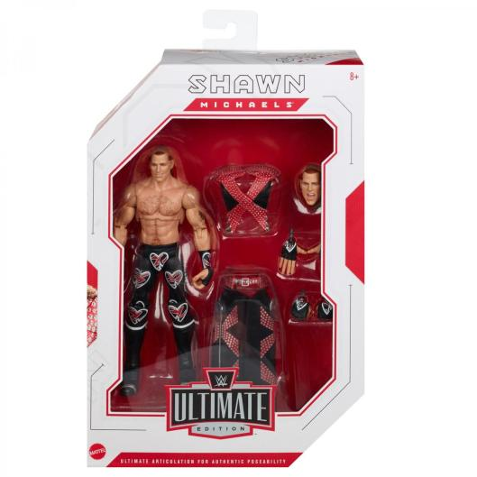 wwe ultimate edition shawn michaels -front package