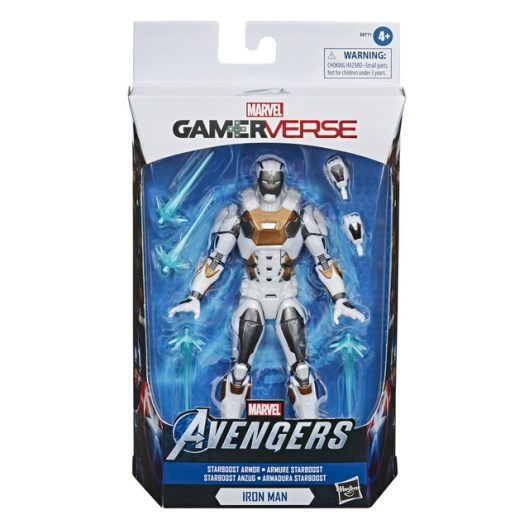 MARVEL LEGENDS SERIES GAMERVERSE 6-INCH STARBOOST ARMOR IRON MAN Figure in pck