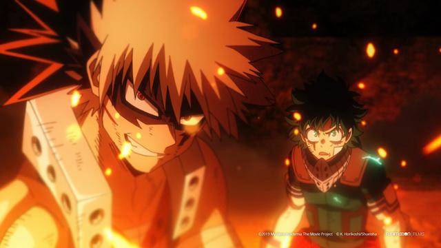 My Hero Academia Heroes Rising_Katsuki Bakugo (left) and Izuku Midoriya [Deku] (Right)