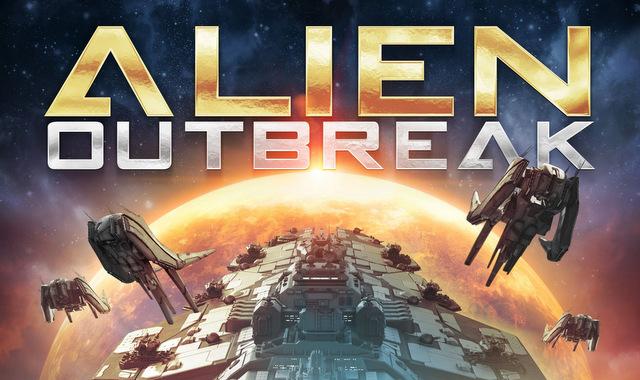 alien outbreak - poster