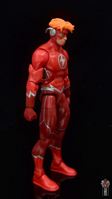 dc multiverse wally west figure review - right side