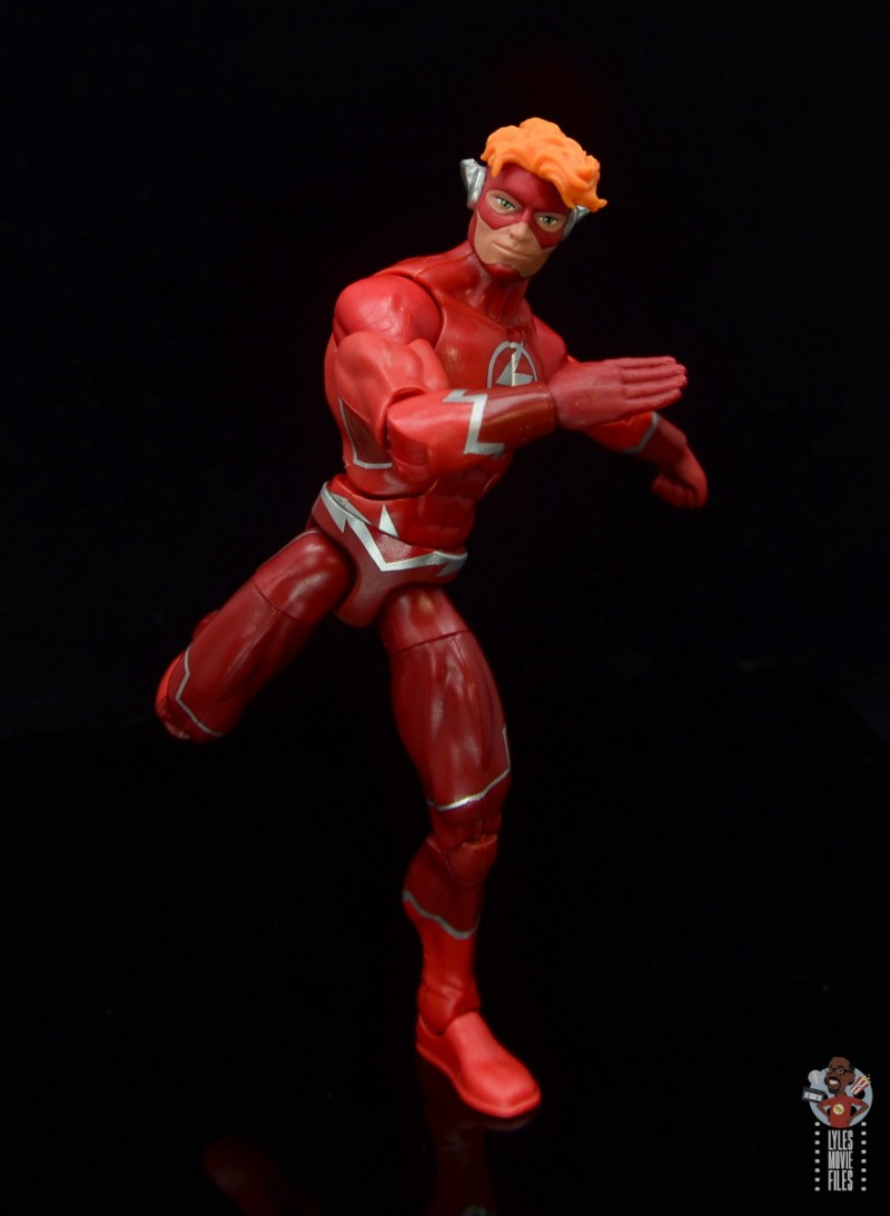 dc multiverse wally west figure review - running