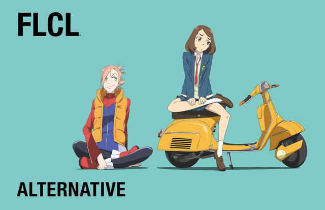 flcl alternative review - main pic