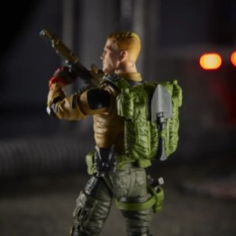 gi joe classified duke figure -backpack