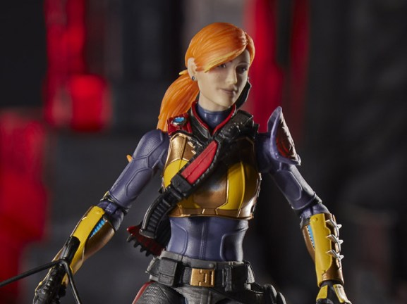 gi joe classified scarlett figure - wide