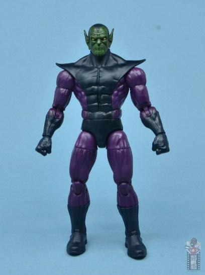 marvel legends build-a-figure super skrull figure review - front