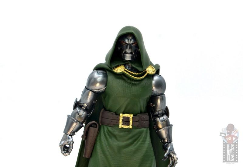 marvel legends doctor doom figure review - modern mask wide