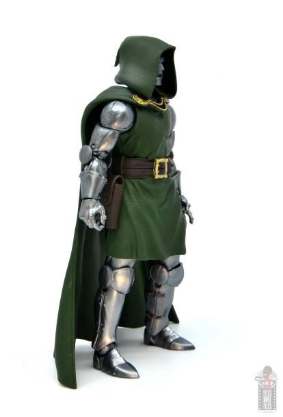 marvel legends doctor doom figure review - right side