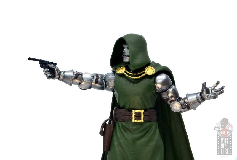 marvel legends doctor doom figure review - with pistol