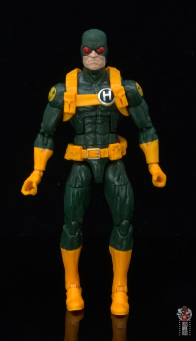 marvel legends hydra soldier figure review - front
