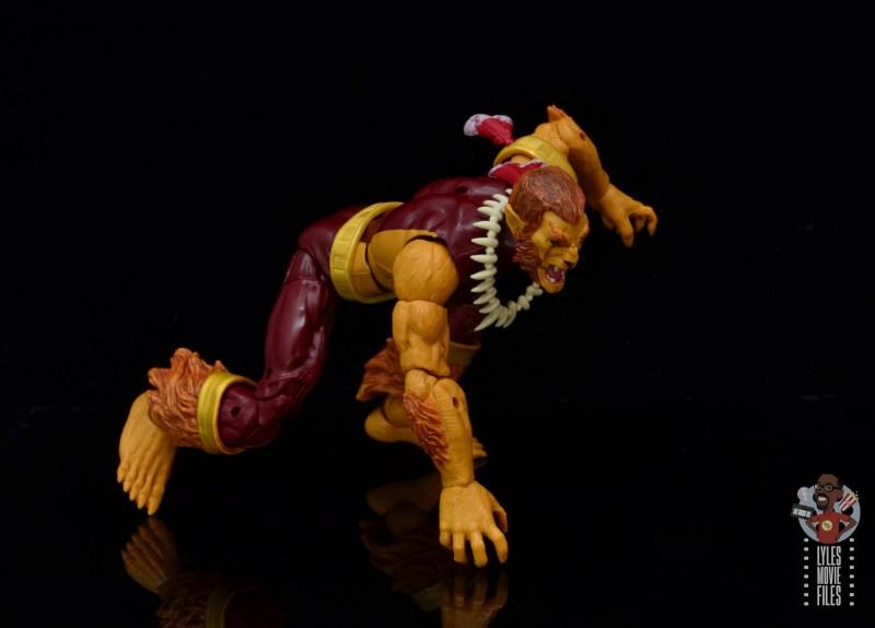 marvel legends puma figure review - crawling