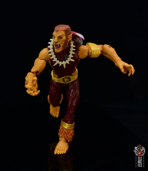 marvel legends puma figure review - on the run