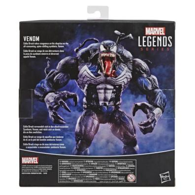 marvel legends venom variant figure - package rear