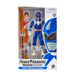 mighty morphin power rangers blue ranger - package front