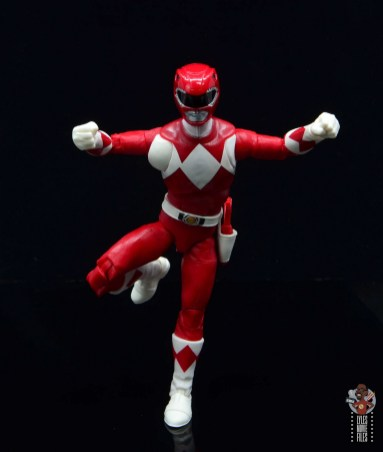 power rangers lightning collection red ranger figure review - charging ahead