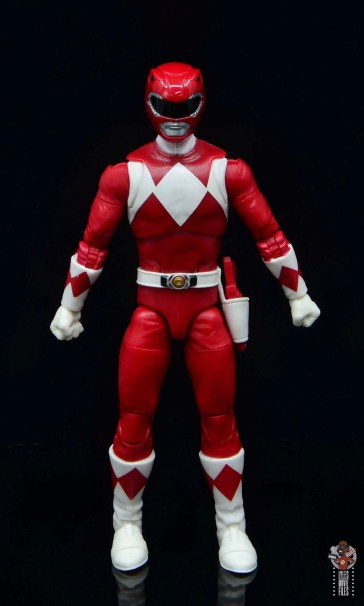 power rangers lightning collection red ranger figure review - front