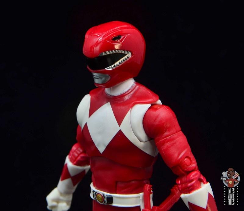 power rangers lightning collection red ranger figure review - helmet detail