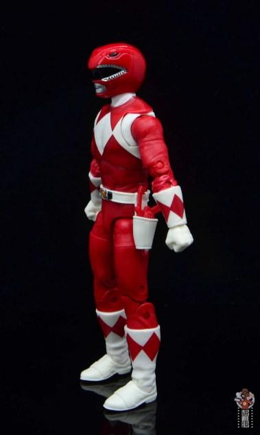 power rangers lightning collection red ranger figure review - left side1