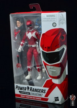 power rangers lightning collection red ranger figure review - package side