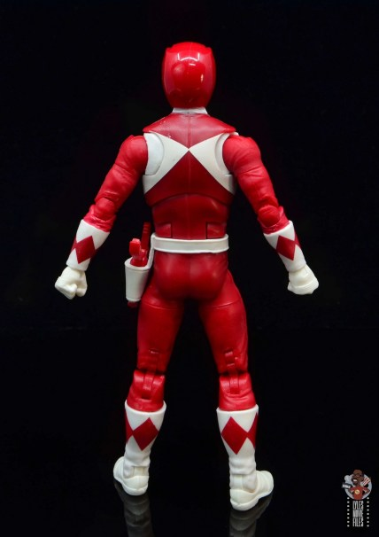 power rangers lightning collection red ranger figure review - rear