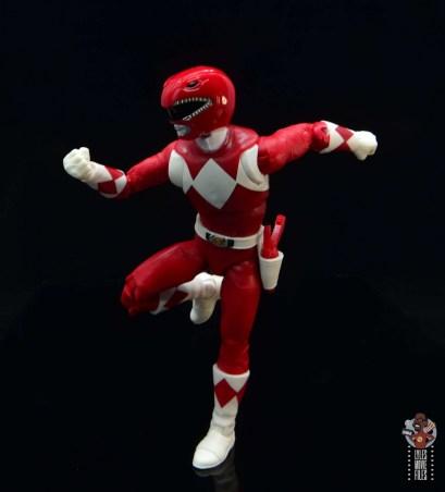 power rangers lightning collection red ranger figure review - running side