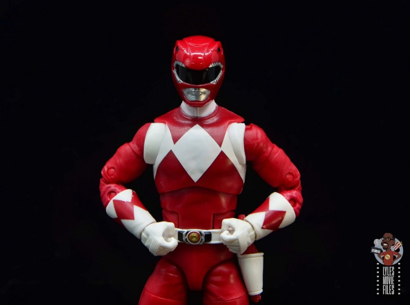 power rangers lightning collection red ranger figure review - wide shot