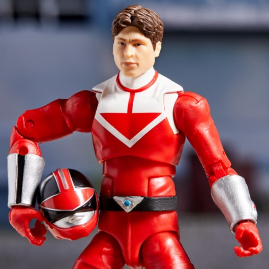 power rangers lightning collection time force red ranger - unmasked