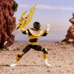 power rangers lightning collection zeo gold ranger - holding staff