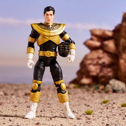 power rangers lightning collection zeo gold ranger - unmasked