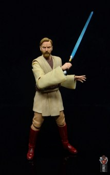 sh figuarts obi-wan kenobi revenge of the sith figure review - getting ready