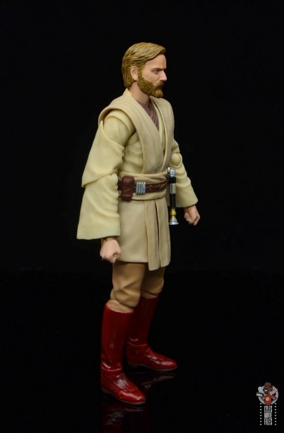 sh figuarts obi-wan kenobi revenge of the sith figure review - right side
