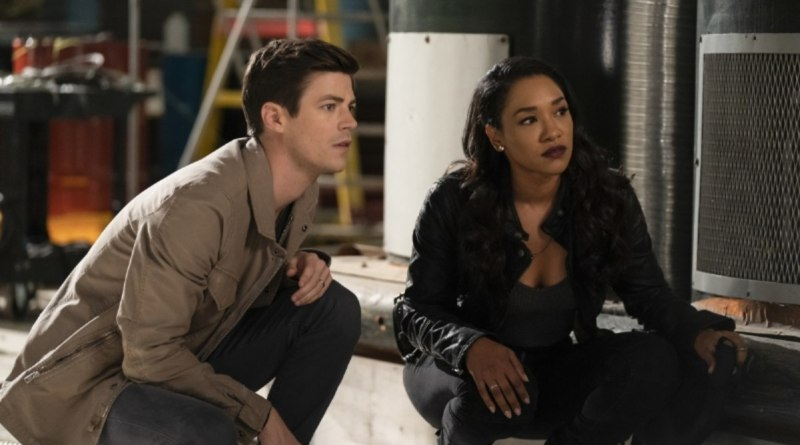 the flash - love is a battlefield review - barry and iris