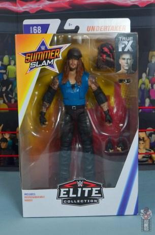 wwe elite 68 american badass undertaker figure review - front package