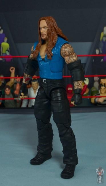 wwe elite 68 american badass undertaker figure review - left side
