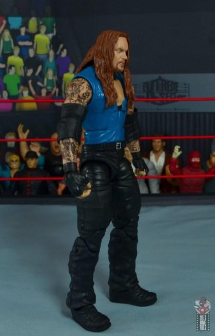 wwe elite 68 american badass undertaker figure review - right side