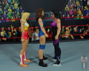 wwe network spotlight wendi richter figure review - facing medusa and sherri martel