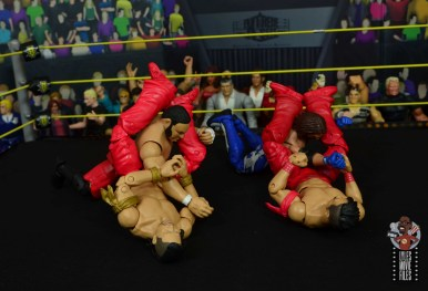 wwe ultimate edition shinsuke nakamura figure review - articulation difference with defining moments nakamura