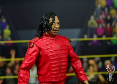 wwe ultimate edition shinsuke nakamura figure review - smirking head sculpt right side
