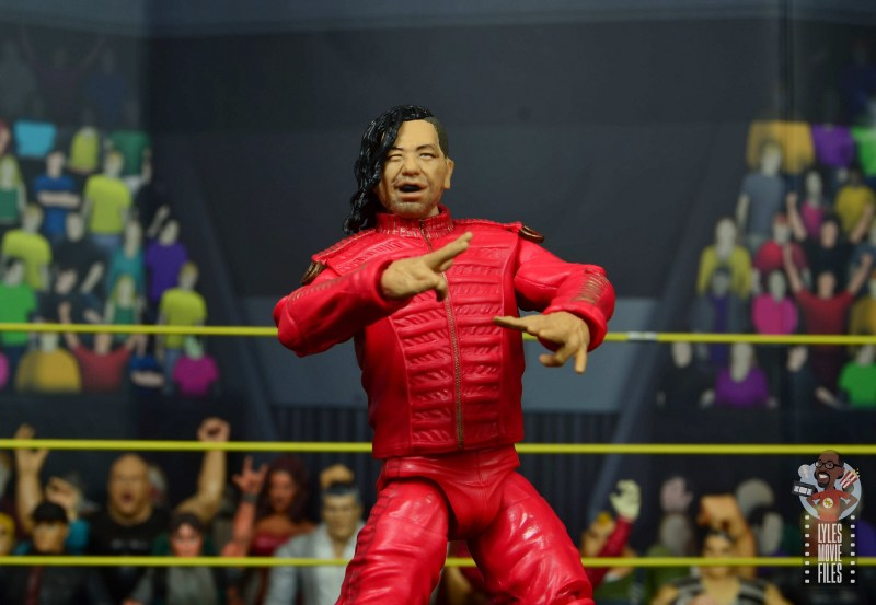 wwe ultimate edition shinsuke nakamura figure review - wide shot