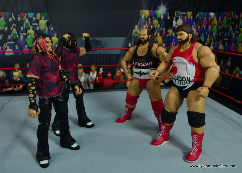 march bashness 2020 - 2nd round - hardy boyz vs natural disasters