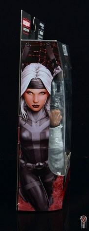 marvel legends silver sable figure review -package side